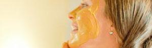 маска за лице с куркума