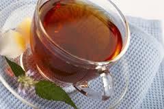 мента, чай за лечение на запушен нос