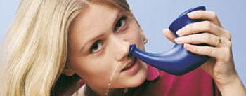 запушен нос, лечение