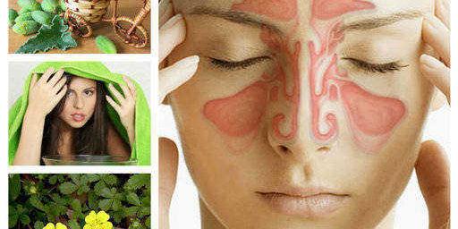 лечение на синузит, народен лек, рецепти
