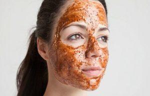 маска за лице с канела