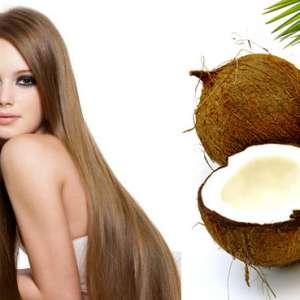 маска за коса с кокосово масло