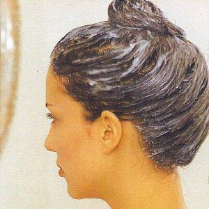 маска за коса хума с хининова вода и хума
