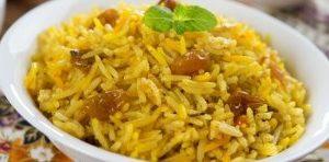 ориз с шафран, ястие, рецепта