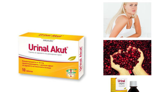 Уринал акут при гъбички и цистит, странични ефекти