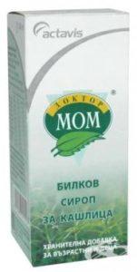 """Сироп за кашлица """"Доктор Мом"""""""