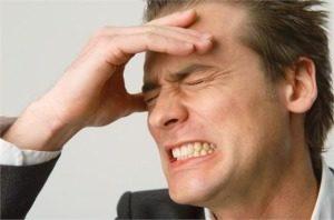 мигрена симптоми