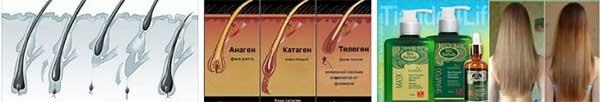 бърз растеж на косата за колко време расте? косопад