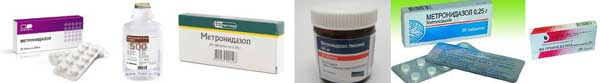 метронидазол при паразити