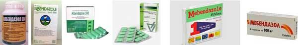 албендазол и мебендазол при паразити