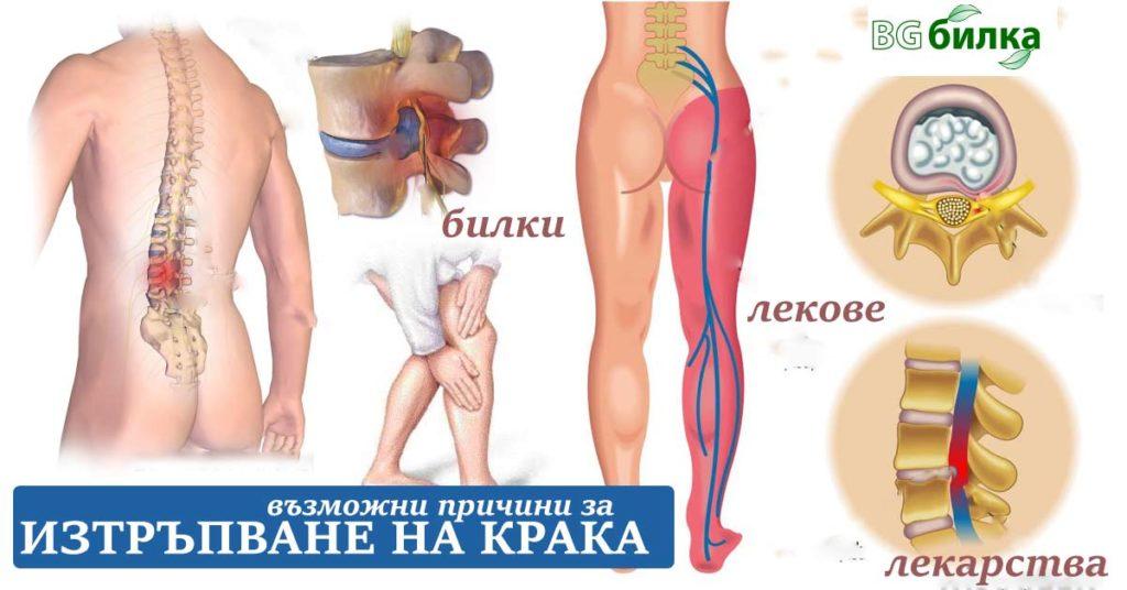 изтръпване на крака крайници ръце ляв крак коляно - 01