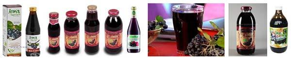 сок от арония сироп, компот, сладко, желе - 98767