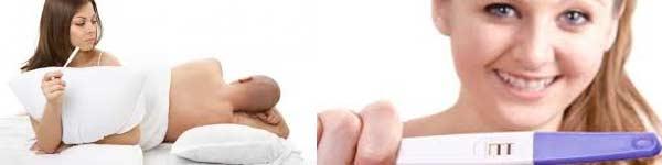 цветна бременност тест кървене