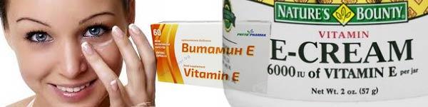 витамин е мазане на кожа