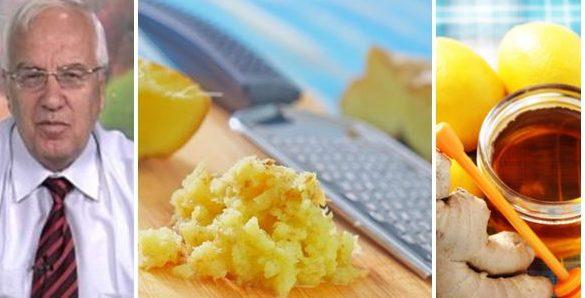 джинджифил с мед и лимон проф. Мермерски