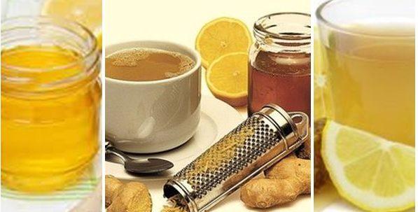 джинджифил с мед и лимон холестерол лечение