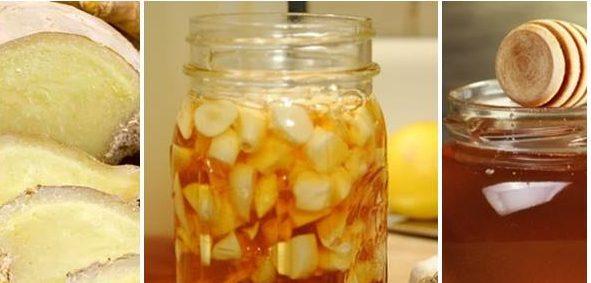 джинджифил с мед