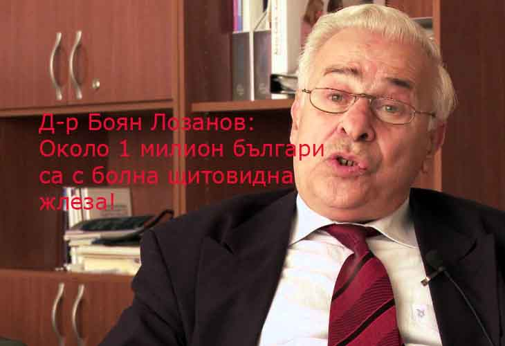 д-р Боян Лозанов базедова болест лечение