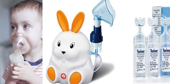 физиологичен разтвор инхалации инхалатор