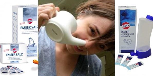 физиологичен разтвор промивка на носа