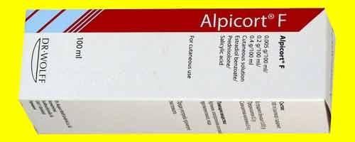 алопеция ареата лечение Алпикорт Ф